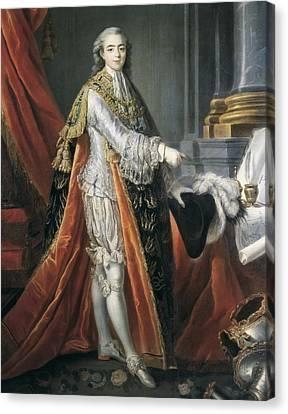 Drouais, Fran�ois Hubert 1727-1775 Canvas Print by Everett