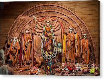 Durga Puja Festival Canvas Print