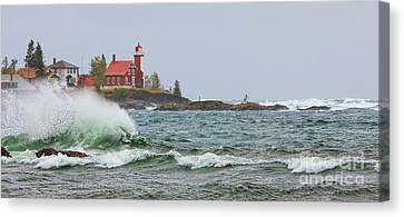 Eagle Harbor Lighthouse Canvas Print