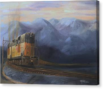East Of The Belt Range Canvas Print by Christopher Jenkins