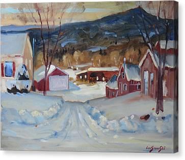 Eddie's Canvas Print by Len Stomski