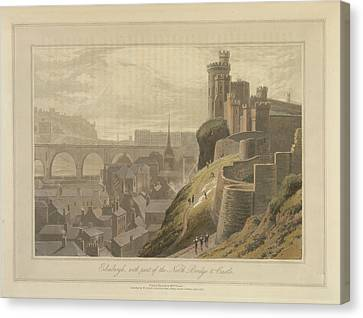 Edinburgh Canvas Print by British Library