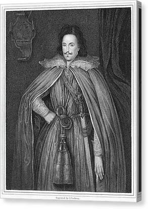 Edward Herbert (1583-1648) Canvas Print by Granger
