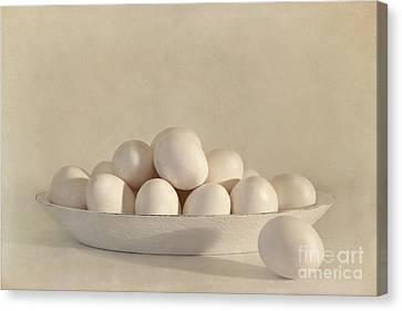 Kitchen Wall Canvas Print - Eggs by Priska Wettstein