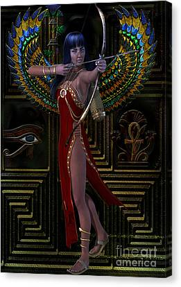 Egypt  Myths And Legends Canvas Print by Shadowlea Is