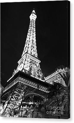 Eiffel Tower Canvas Print by Kevin Ashley
