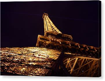 Eiffel Tower Paris France Canvas Print by Patricia Awapara