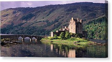 Eilean Donan Castle, Dornie Canvas Print by Panoramic Images