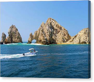El Arco, The Arch, Cabo San Lucas Canvas Print by Douglas Peebles