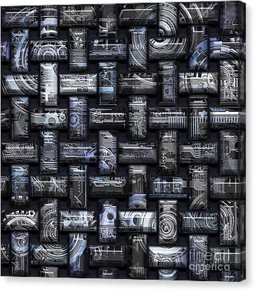 Elaborate Compounds Canvas Print