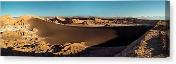 Elevated View Of Desert, Valle De La Canvas Print by Panoramic Images