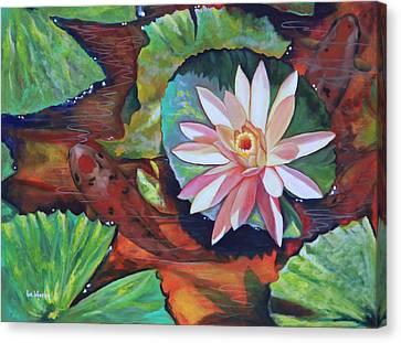 Emerging Canvas Print by Eve  Wheeler