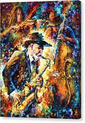 Endless Tune Canvas Print by Leonid Afremov