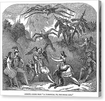 England Pantomime, 1850 Canvas Print by Granger