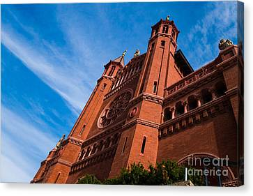 Ephiphany Catholic Church Canvas Print