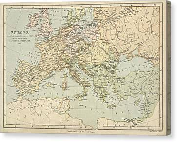 Europe Canvas Print by British Library