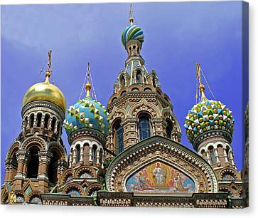 Europe, Russia, St Canvas Print