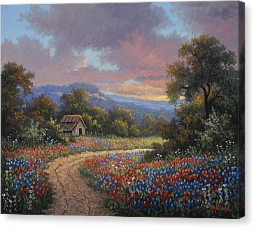 Evening Medley Canvas Print by Kyle Wood