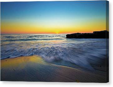 Canvas Print featuring the photograph Expanse 3 by Ryan Weddle
