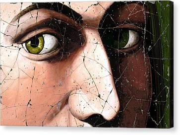 Eyes Of Bindo Altoviti - Study No. 1 Canvas Print by Steve Bogdanoff