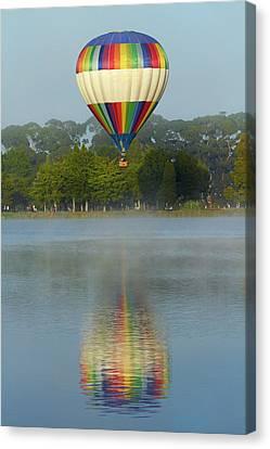 Ezy B Hot Air Balloon, Balloons Canvas Print by David Wall