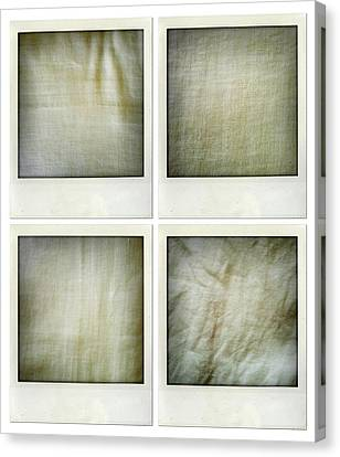Fabrics Canvas Print by Les Cunliffe