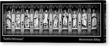 Martyr Canvas Print - Faithful Witnesses -- Poster by Stephen Stookey