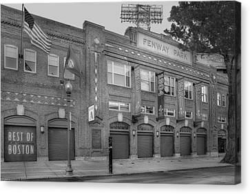 Fenway Park - Best Of Boston Canvas Print by Susan Candelario