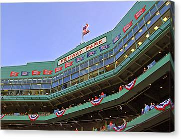 Fenway's 100th Canvas Print