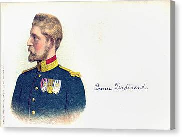 Ferdinand I (1865-1927) Canvas Print by Granger