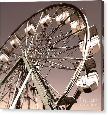 Ferris Wheel Canvas Print by Gregory Dyer