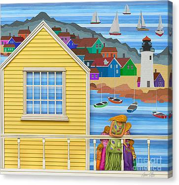 Cape Cod Canvas Print - Finally Home by Anne Klar
