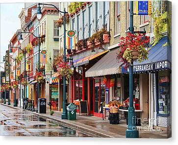 Findlay Market In Cincinnati 0009 Canvas Print