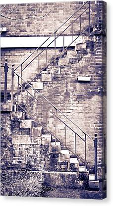 High Park Fire Canvas Print - Fire Escape by Tom Gowanlock