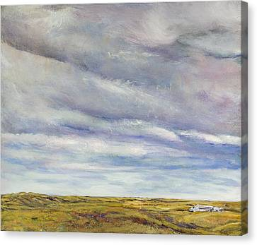Firmament Canvas Print by Helen Campbell