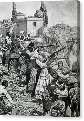 First World War (1914-1918 Canvas Print by Prisma Archivo