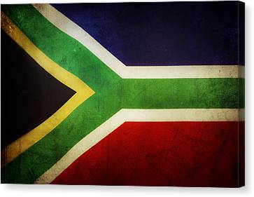 Flag Canvas Print by Les Cunliffe