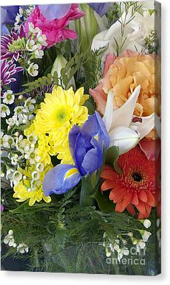 Floral Bouquet 4 Canvas Print