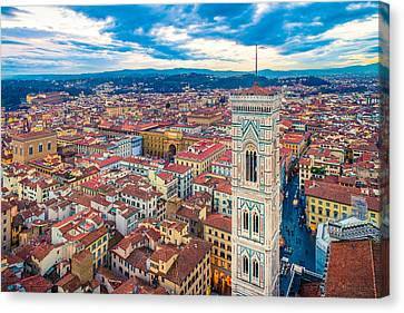 Florence Canvas Print by Cory Dewald