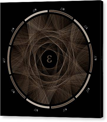 Flow Of E #2 Canvas Print by Cristian Vasile