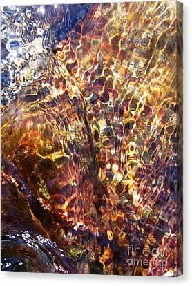 Flowing  Canvas Print by Agnieszka Ledwon