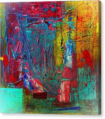 Follow The Sun Canvas Print by Carolyn Repka