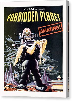 Forbidden Planet  Canvas Print by Silver Screen