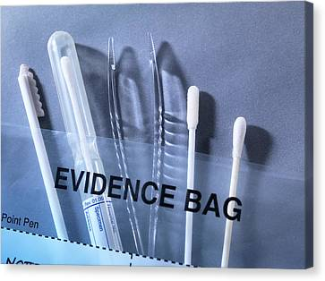 Forensic Science Equipment Canvas Print