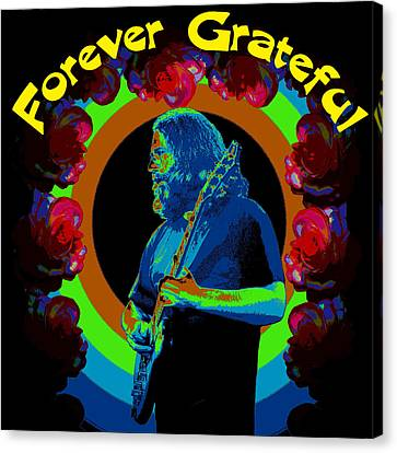 Forever Grateful Canvas Print by Ben Upham III
