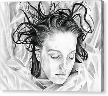 Forget Me Not - Laura Palmer - Twin Peaks Canvas Print by Fred Larucci
