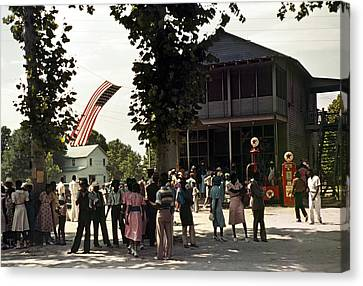 Fourth Of July, 1939 Canvas Print by Granger
