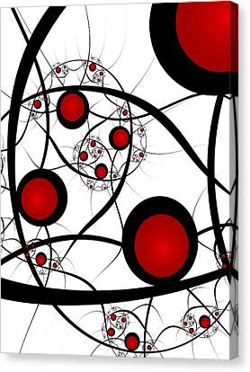 Fractal Balance Canvas Print
