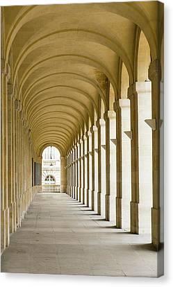 France, Bordeaux, Grand Theatre De Canvas Print
