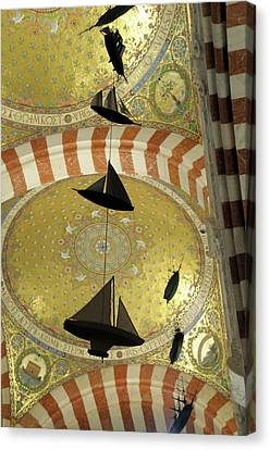 Byzantine Canvas Print - France, Bouches-du-rhone, Marseille by Kevin Oke